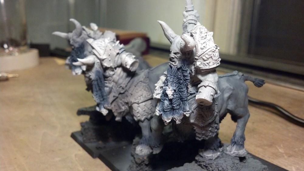 Bull Centaurs: WIP pt 1 (3/4)
