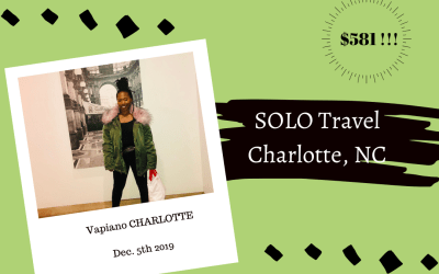 SOLO Travel to Charlotte, NC
