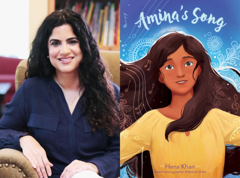 Q&A: Hena Khan, Author of 'Amina's Song' | The Nerd Daily