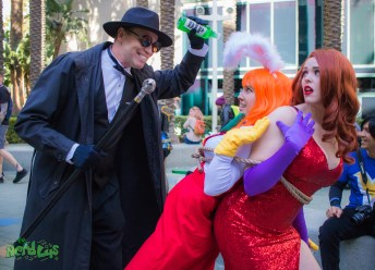 Who Framed Roger Rabbit (@daddydonpool, @missgrey_cosplay, @cosimaudrey)