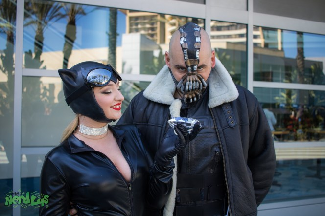 Catwoman and Bane (@mariannefredericks)