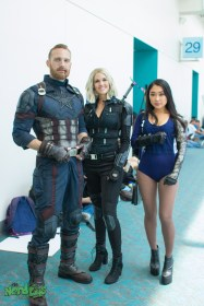 Captain America, Black Widow, Winter Soldier