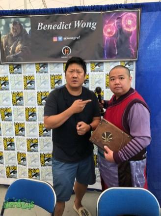 Meeting Benedict Wong
