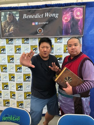 Meeting Benedict Wong part 2