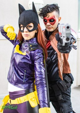 Batgirl and Red Hood