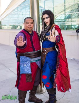 Wong and Dr. Strange by @heartlessaquarius