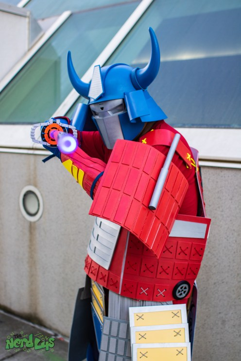 Samurai Optimus by @project_alien
