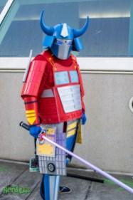 Samurai Optimus by @project_alien