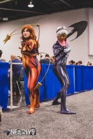 Iron Spider and Venom @ladyraegun and @missmelindajean