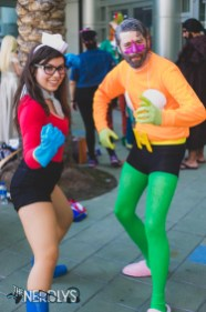 Barnacle Boy and Mermaid Man (@amandapartypoison @stevespindler)