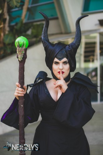 Maleficent by @klscosplay