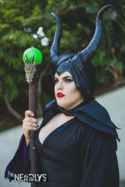 Maleficent by @klscosplay