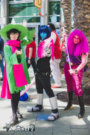 Deltarune (@king_maii @thecosplayerdan and @the_real_seal)