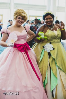 Princesses by @thebigloserqueen and @robinnerdycosplay