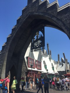Entrance to the Wizarding World