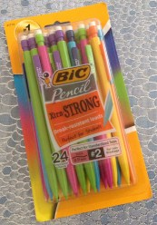 24 BIC Pencil Xtra·STRONG Break-Resistant leads #2 pencils