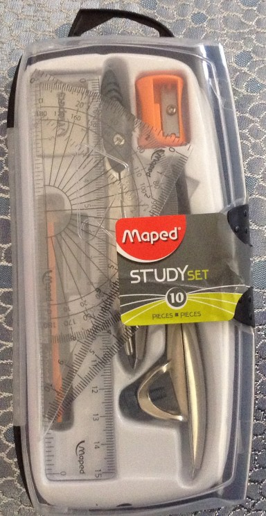 Maped Geometry 10 Piece Study Set