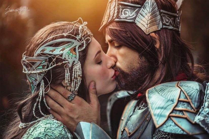 Giovanni Cabiola - Aragorn e Arwn