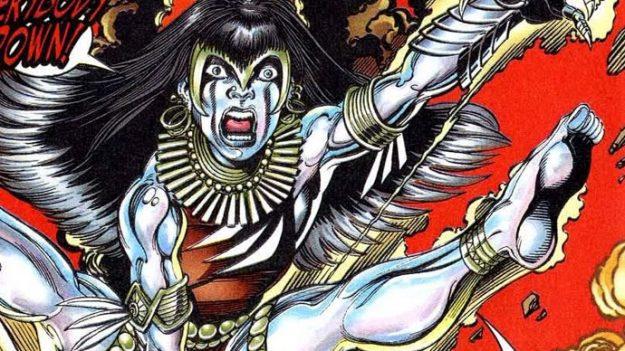 Super-eroi Super-sconosciuti: Silverclaw