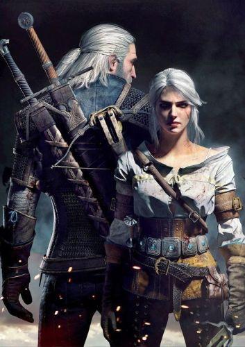 The Witcher Cirilla e Geralt