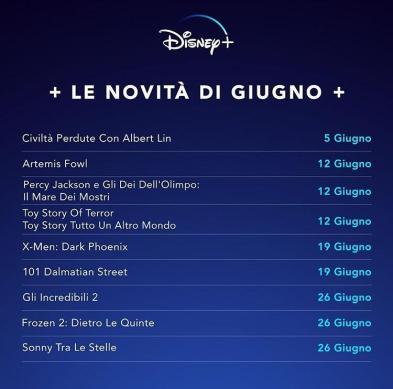 novità giugno - Disney +