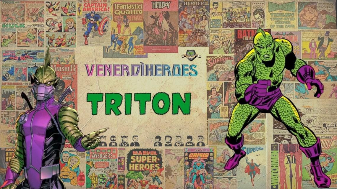 Triton: l'uomo pesce di Attilan