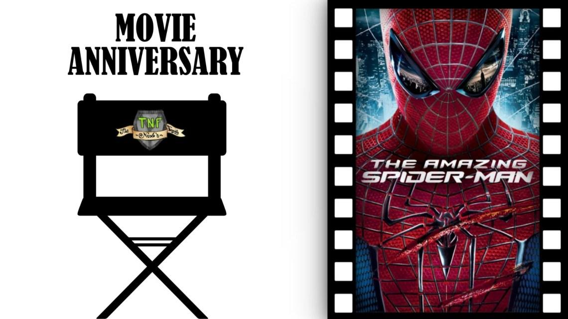 The Amazing Spider-man: 8 anni dal suo debutto al cinema