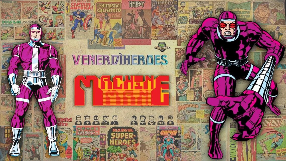 Machine Man: più di un uomo, meno di una macchina