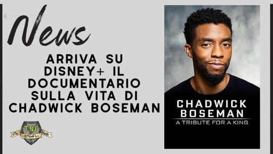 Chadwick Boseman: A Tribute For A King su Disney+