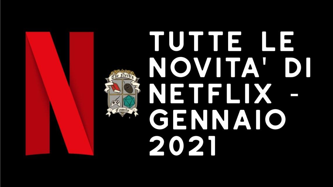 Programmazione Netflix di Gennaio 2021