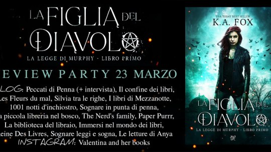 La figlia del diavolo di K.A. Fox – Review Party