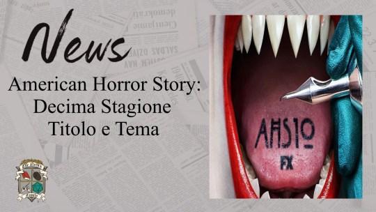 American Horror Story 10: titolo e tema