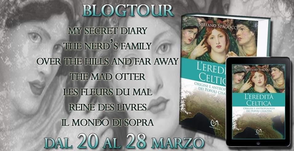 """Blogtour """"L'Eredità Celtica"""" di Stefano Spagocci: l'arte celtica in Italia"""