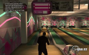 When the fun of bowling is too much for real-life.