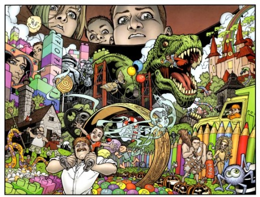 The kids of Locke & Key use the Head Key to look inside someone's head, and view their memories and personality traits.