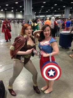 Squirrel Girl and Captain America USO Girl