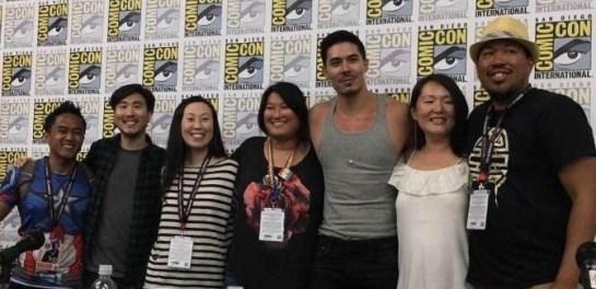 Super Asian America panel, Comic-Con International, 2017