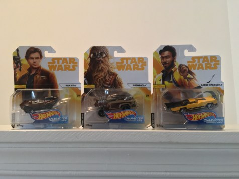 """Solo """"Character Cars"""" from Hot Wheels"""