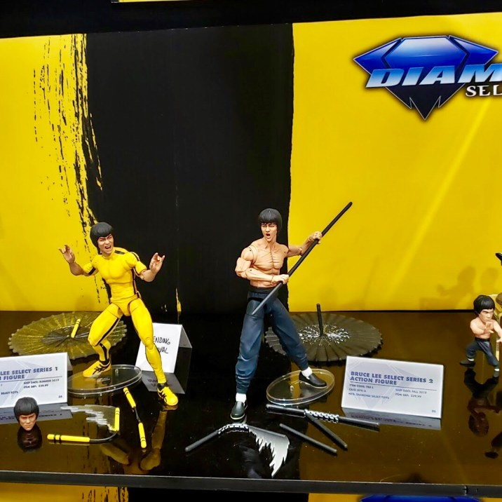 Basically all the Bruce Lee things at the DST booth.