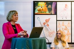 TOY STORY 4 (Pictured) - Valerie LaPointe (Story Supervisor) at April 3 long lead press day. Photo by Marc Flores. ©2019 Disney/Pixar. All Rights Reserved.