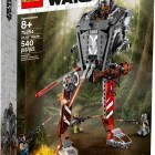"""LEGO® Star Wars™ 75254 – AT-ST™ Raider - $49.99 Recreate epic Star Wars adventures from The Mandalorian! Stride into action with the awesome AT-ST Raider from the Star Wars™ TV series, The Mandalorian! This cool walker has everything you'd expect, including posable legs and a turning turret with an opening cockpit and firing shooters. The set also comes with the Mandalorian, Cara Dune and 2 Klatooinian Raiders to get the LEGO® Star Wars action going straight away! Are you ready to play, young Mandalorian? Includes 4 LEGO® Star Wars™ characters: The Mandalorian, Cara Dune and 2 Klatooinian Raider minifigures. LEGO® Star Wars™ AT-ST vehicle features posable jointed legs, a wheel-activated turning turret, opening canopy with space for a minifigure inside a detailed cockpit, and specially decorated elements for a cannibalized look. Weapons include 3 blaster rifles and a blaster. Recreate amazing adventures from the hit Star Wars: TV series The Mandalorian. Makes a great birthday gift, Christmas present or just a Star Wars™ gift for any occasion. LEGO® Star Wars™ AT-ST walker building toy measures over 9"""" (25cm) high, 5"""" (15cm) long and 5"""" (13cm) wide. Available October 4"""