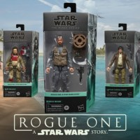 Hasbro Reveals New and Updated 'Rogue One' Black Series Figures and More