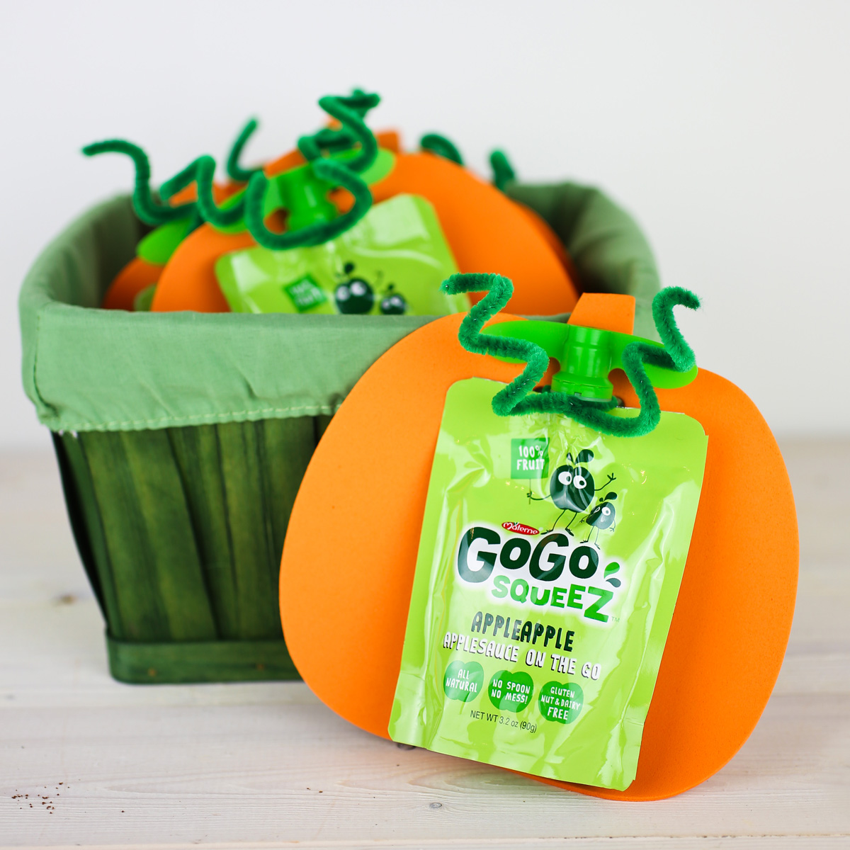 Healthy Preschool Snacks Gogo Squeez Pumpkins
