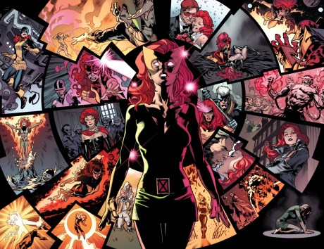 Jean Grey learns of the events of her life - All-New X-Men #5