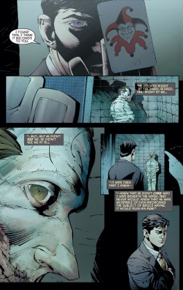 The Joker summed up perfectly...chilling...