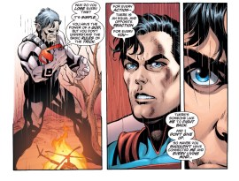 Superman always does the right thing!