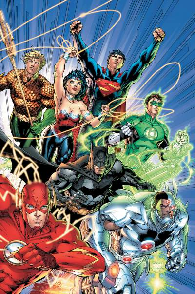 Justice League Comic Books