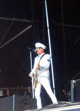 Robin Zander of Cheap Trick. Taken during the 2013 Stampede Round Up