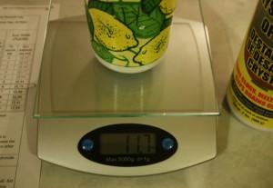 Measure Lye for Soap Making