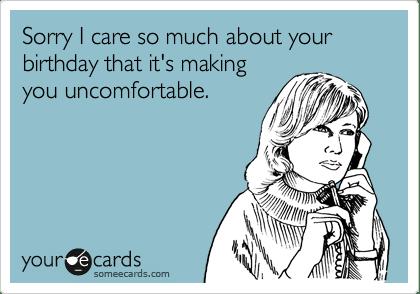 on birthdays (3/5)